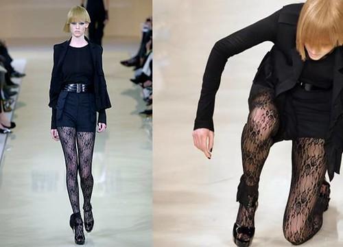 Lara-Stone-caida-Karl-Lagerfeld-2007