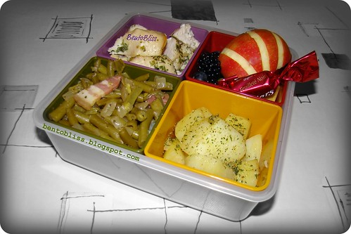 Garlic Chicken Bento