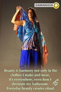 Everyday beauty creates ritual. #createsustainability