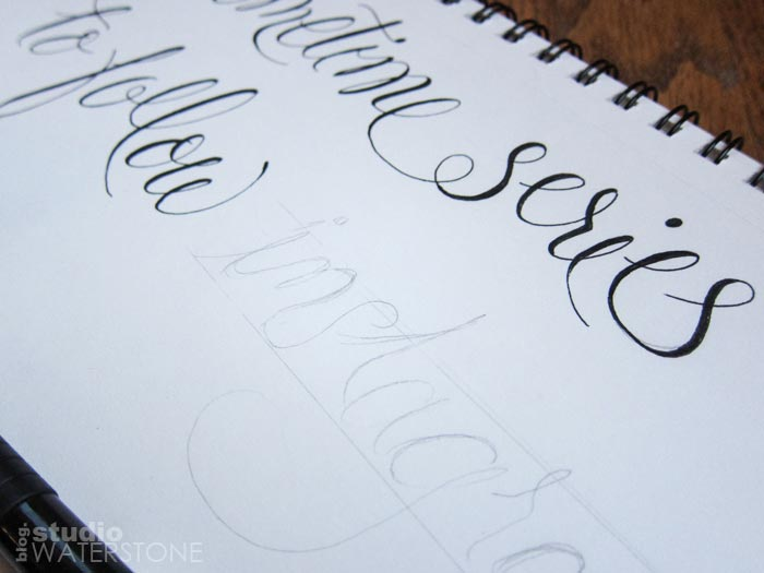 My Sketchbook: Modern Calligraphy
