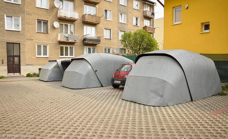 garage, Slovakia, Bardejov
