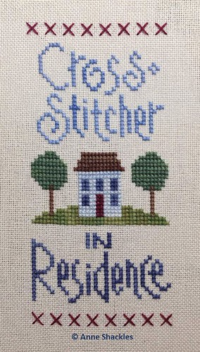 LizzieKate-Cross Stitcher in Residence