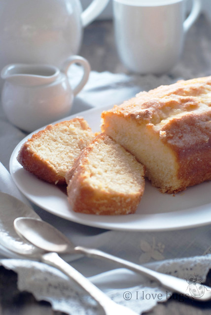 pound cake de limon con petazetas