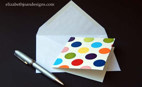 Gift Box Note Cards 9