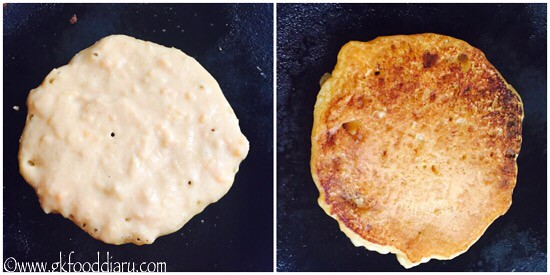 Sweet Potato Pancakes Recipe for Babies, Toddlers and Kids - step 3
