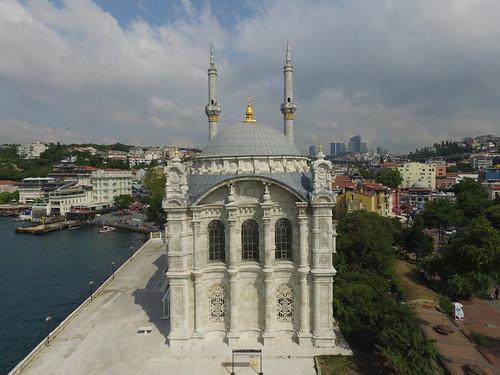 Ortaköy Camii a levegőből