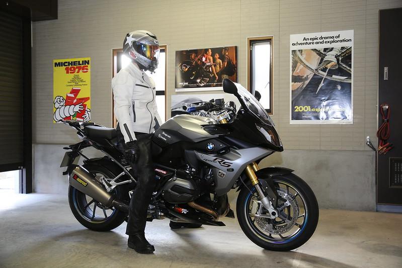 BMW R1200RS Seat Impression