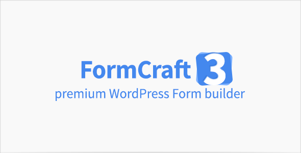 FormCraft v3.3.1 – Premium WordPress Form Builder