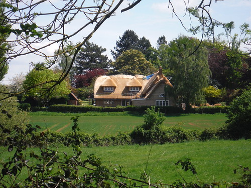 Newly Thatched House, near Tiddington