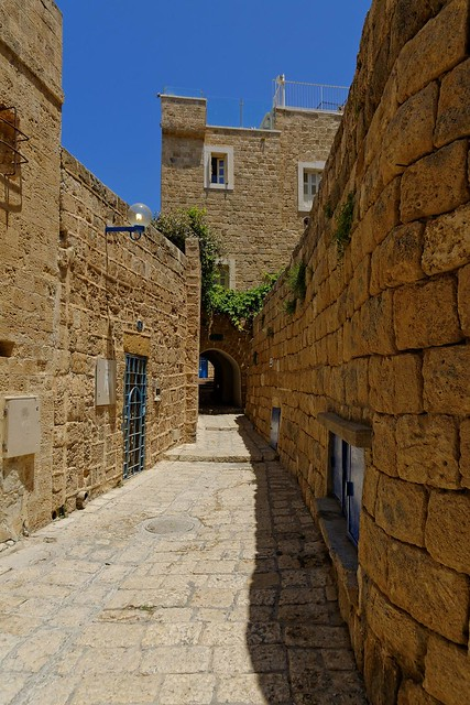 Israël / Alley in old Jaffa  3/5