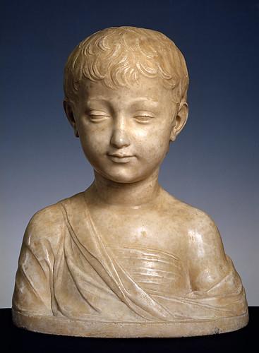 Antonio Rossellino - Gesù bambino (1460) - Firenze Museo di Palazzo Davanzati by petrus.agricola