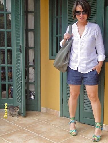 Linho e jeans