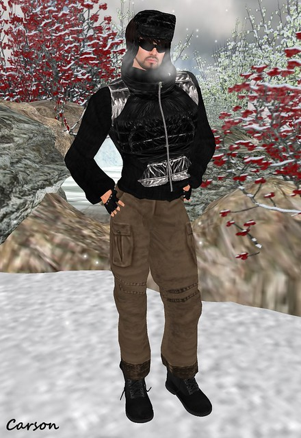 FA CREATIONS - Cargo Pants, Sweater, Jacket, Russian Hat, Boots and Gloves