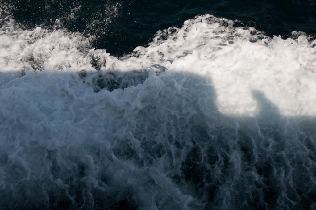 speedboat silhouette