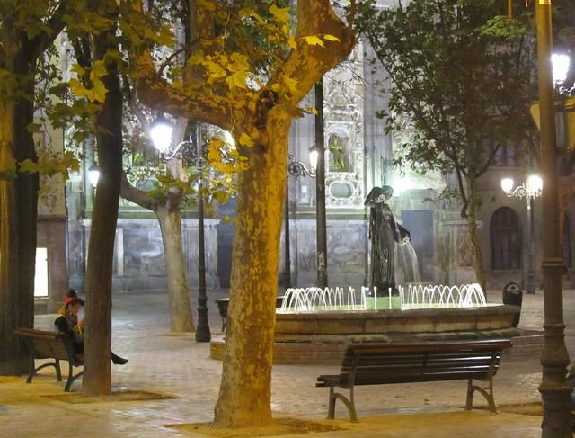 Una plaza tranquila