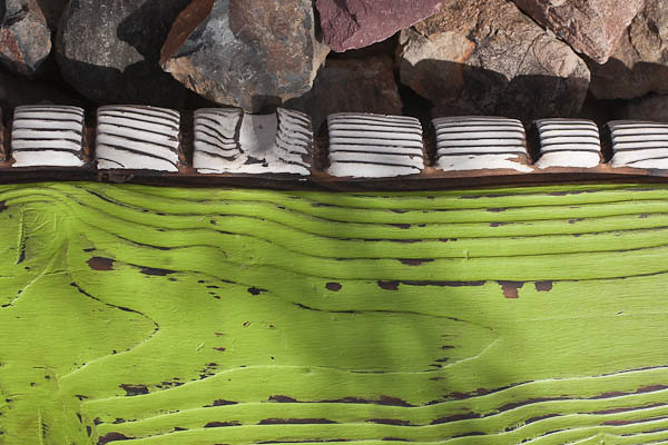 Rocks and Wood?