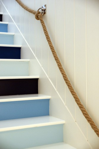Jonathan Adler nautical stairs