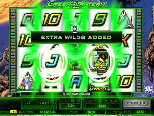 Green Lantern Free Spins