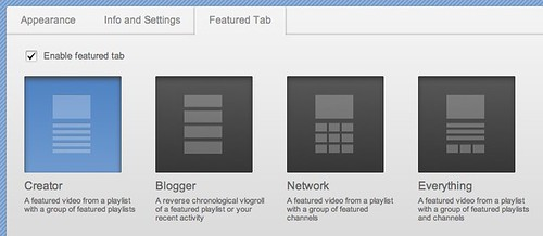 YouTube - New Channel Design Choices: Creator, Blogger, Network, Everything by stevegarfield