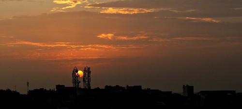 sunset birds clouds canon delhi anand pankaj firstshot parbat amazingclouds karolbagh 550d justclouds t2i delhiclouds anandparbat anandparbatclouds pankajanand18