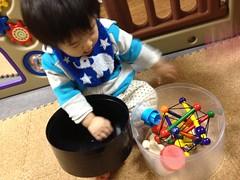 おもちゃを移し替えたよ^^ (2011/12/2)