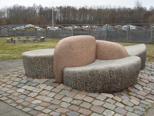 CHRISTENSEN, Ole. Levende sten, 1971:
