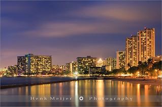 Waikiki Beach - Honolulu - Oahu - Hawaii