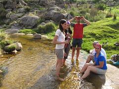 En el río