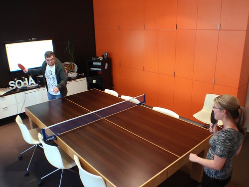 Soap's Boardroom / Ping Pong Table