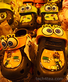 BenBen slippers at Night Bazaar
