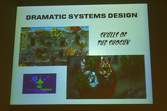 Dramatic Systems Design Slide from Borut's talk