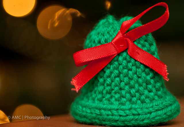 Knitting Pattern Christmas Bells : Knitted Christmas Bell Flickr - Photo Sharing!