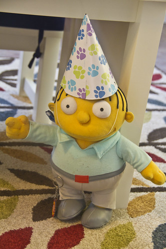 Ralph Wiggum isn't allowed to wear pointy hats