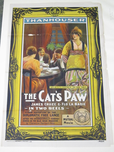The Cat's Paw poster