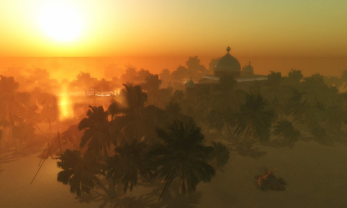 Arabian sunset - from Shadowfield