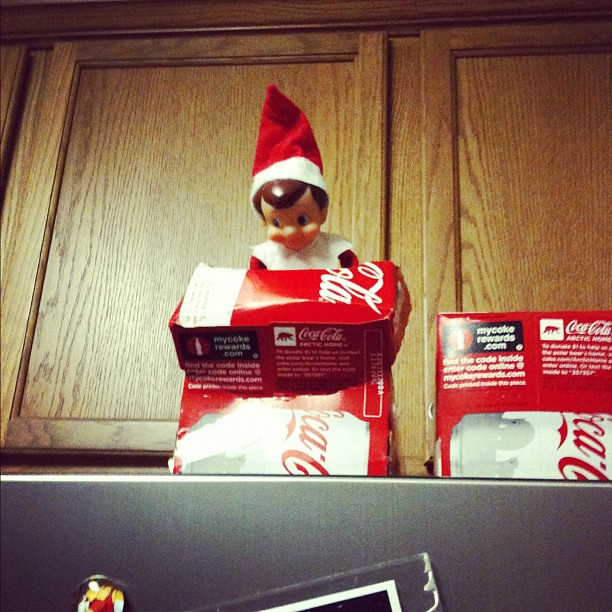 our elf on the shelf, Jack