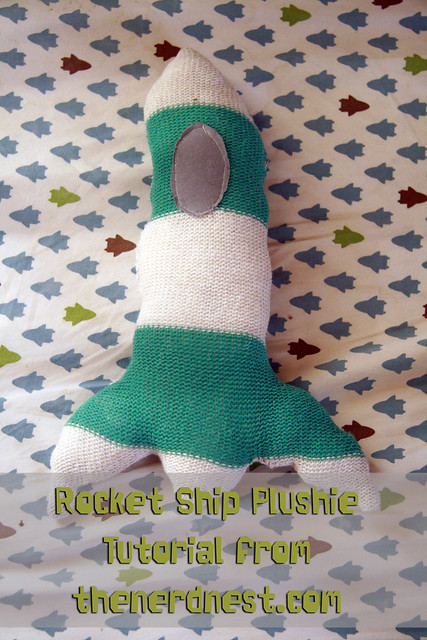 Rocket Ship Plushie Tutorial