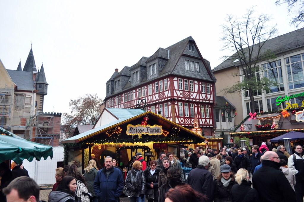Haus Wertheym Frankfurter Weihnachtsmarkt, el mercado de Navidad más grande de Alemania - 6464830595 f726e56bcf o - Frankfurter Weihnachtsmarkt, el mercado de Navidad más grande de Alemania