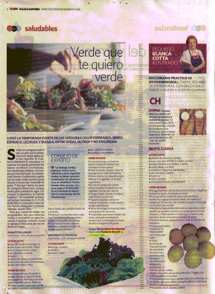 Diario Clar°n 18-11-09