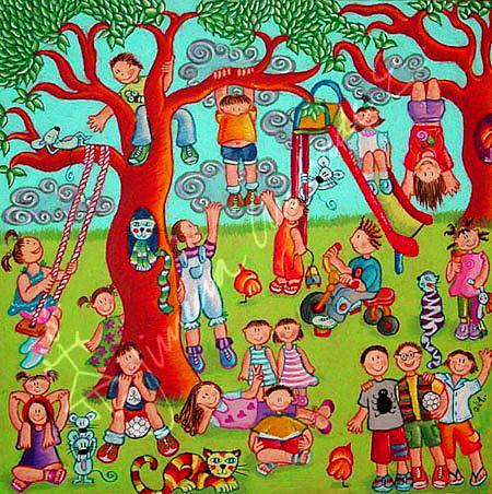 Niños jugando en el parque (2007) | Flickr - Photo Sharing!