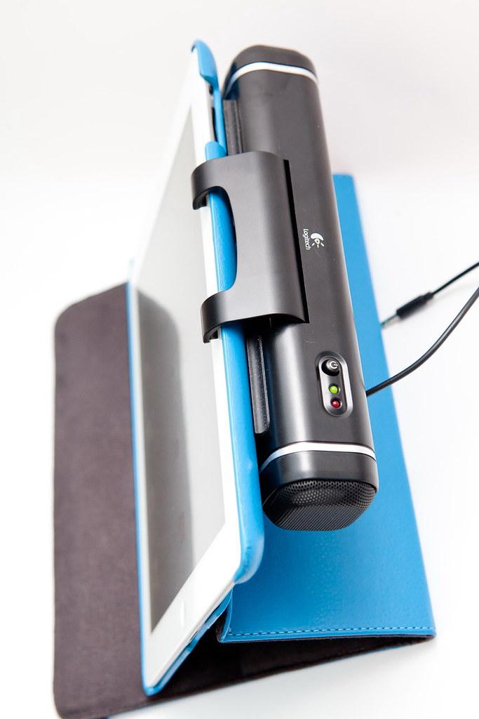 平板也要好聲音 – 羅技平板電腦專用音箱開箱試用分享 @3C 達人廖阿輝