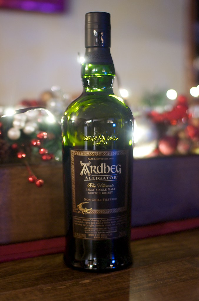 Ardbeg Alligator on my table