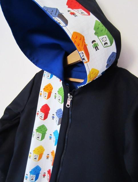 lego hoodie black side hood