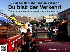 Du steckst nicht fest im Verkehr (You are not stuck in traffic) @respontour