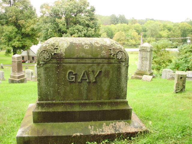 Having a gay old time in Glenwood. Glenwood Cemetery - Oneida, New York