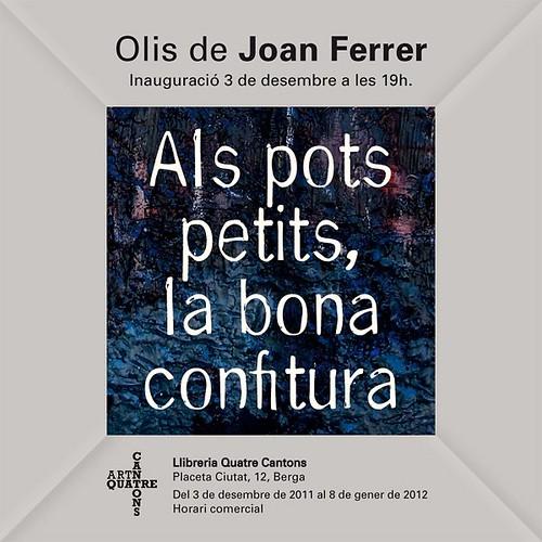 Exposició Joan Ferrer 2011