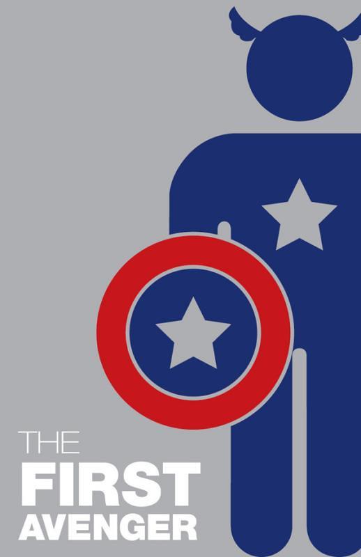 Super-Heróis e suas frases 2 capitão américa