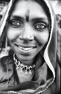 India . Portrait