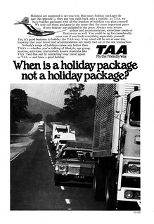 1979 TAA Airlines ad