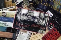 Postcard Collage -- Literacy Matters